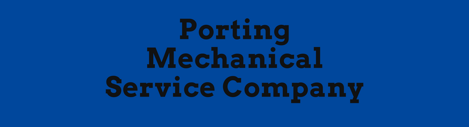 Porting Mechanical Service Company